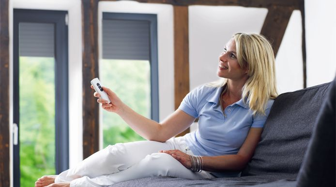 Switch over to #Motorised #Curtains & blinds for convenient operations. More control over light and temperature.