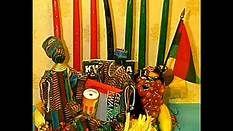 Kids talk about Kwanzaa. It celebrates their African heritage.