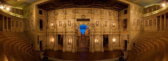 The Olympic Theater in Vicenza | Italian Ways