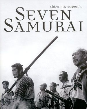 Kurosawa's awesome epic, from which came The Magnificent Seven