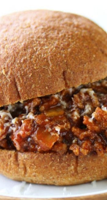Sweet & Spicy White Cheddar Sloppy Joes