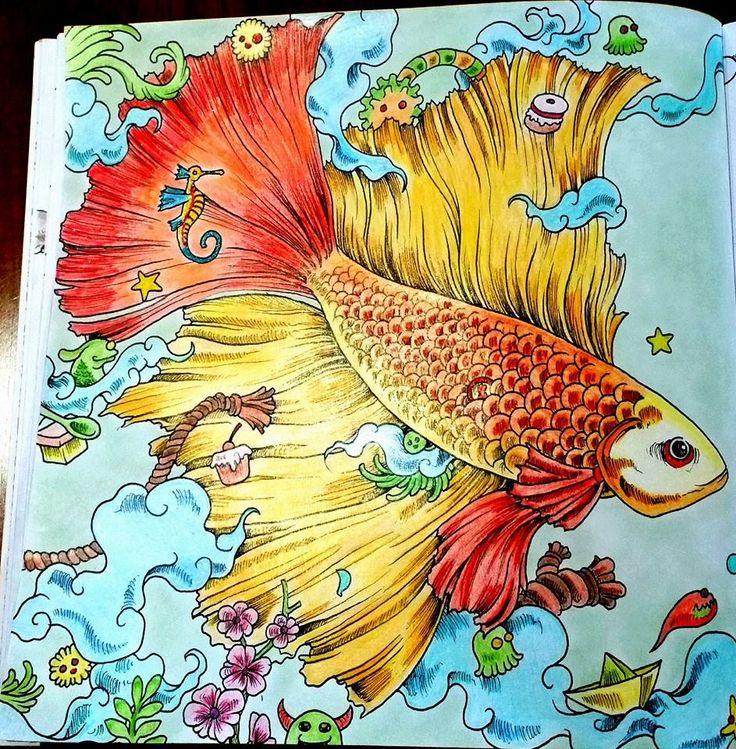 My Version Of The Fish In Animorphia Book