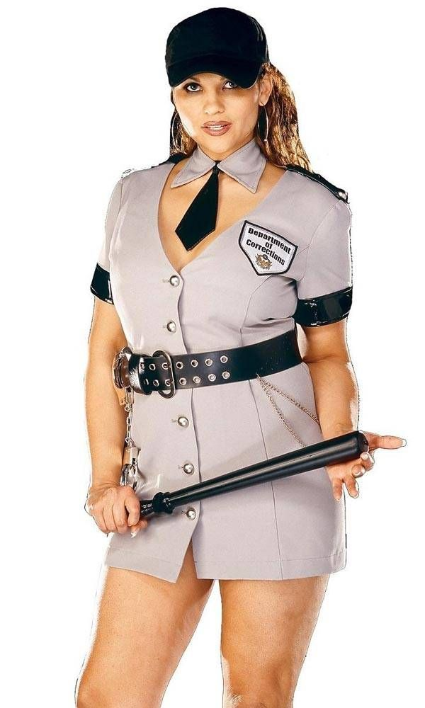 police officer plus size halloween costumes for women