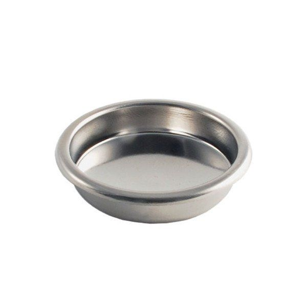 Use this stainless steel blind filter to back-flush and clean your standard size 58mm espresso machine group head