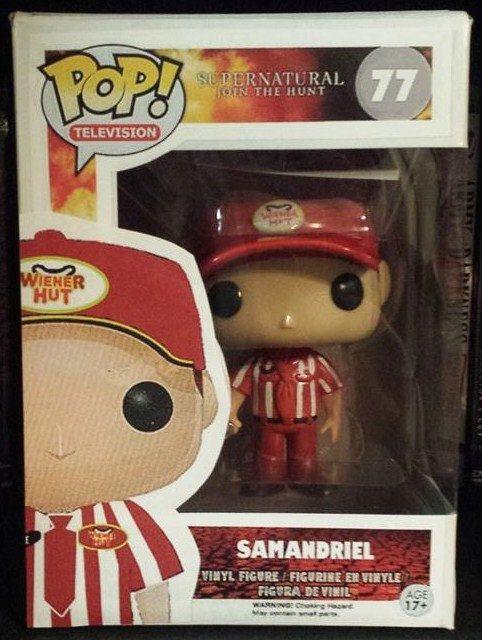 Supernatural Samandriel aka Alfie - Custom Funko pop toy