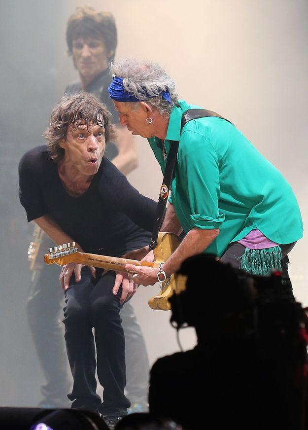 Glastonbury Keith | 33 Rocking Pictures To Celebrate Keith Richards' 70th Birthday