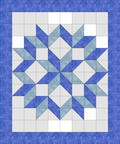 carpenter s star Quilts & Quilting Pinterest Quilt, Black and Blue and