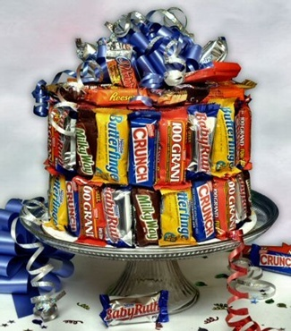 What! A Candy Bar Cake
