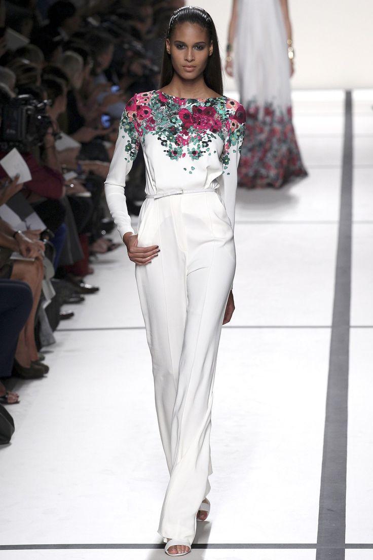 Floral White Dress |