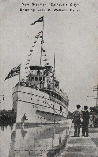 Welland Canal 1911