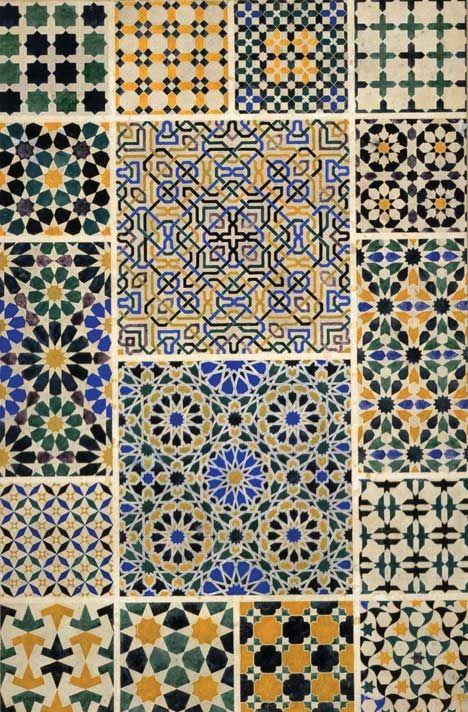 """Mosque pattern from Grammar of Ornament"", Owen Jones"