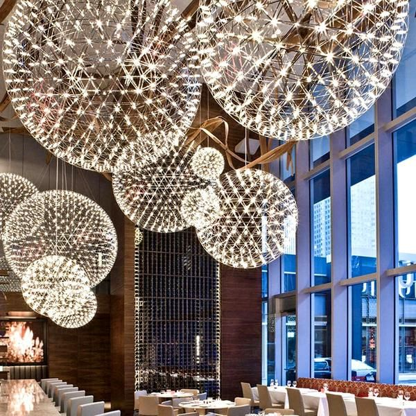 Orbital Led Hanging Lamp Warmly Chandelier Creative Circle Pendant Light Contemporary Chandelier