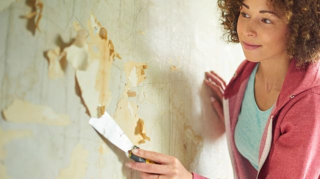 Décoller du papier peint : les 3 méthodes faciles | Papier peint, Papier et Décoller papier peint