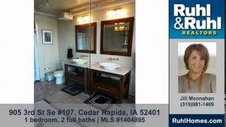 great Homes for sale 905 3rd St Se #107 Cedar Rapids IA 52401 Ruhl&Ruhl Realtors
