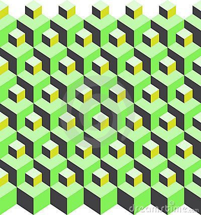 isometric cube pattern variation | texture | Pinterest ...