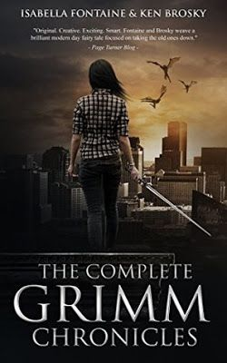 The Complete Grimm Chronicles (The Grimm Chronicles) by Ken Brosky and Isabella Fontaine - #Coming_of_Age, #Fantasy, 5 out of 5 (exceptional), Xpresso Reads  (June)