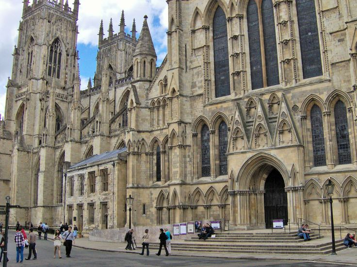 The Sheer size of YORK MINSTER is staggering