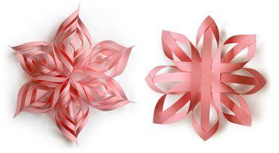 25 Papieren kerst Ornamenten