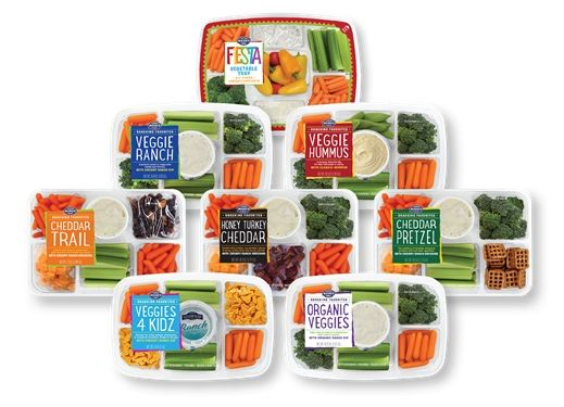 Mann Packing Launches Assortment of Vegetable Trays