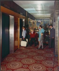 Interior of Lennons Hotel, Toowoomba, Queensland, 1965, [1] [picture]