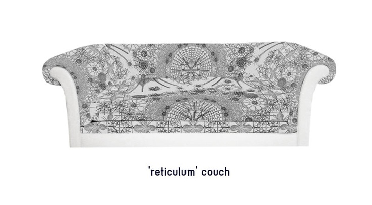 'reticulum' couch