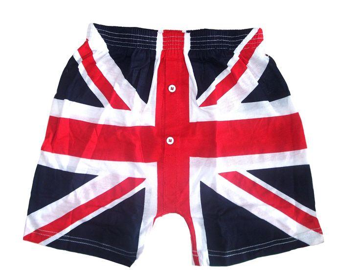 Union Jack Boxer Shorts British GB London Olympics Queens Diamond Jubilee | eBay