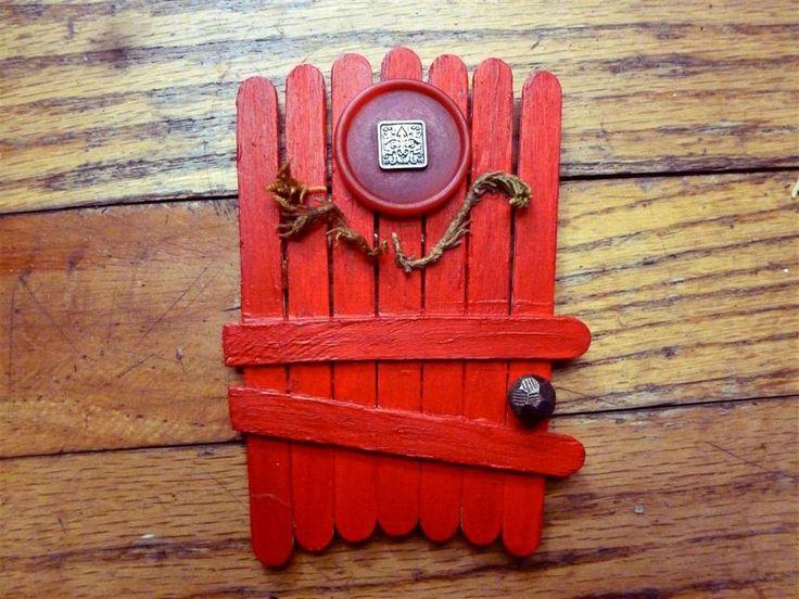25 best ideas about fairy garden doors on pinterest for Homemade fairy doors