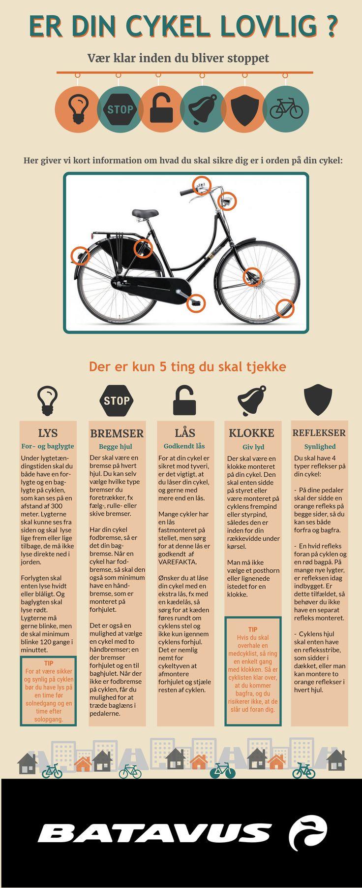 Er din cykel lovlig?