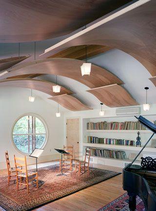 beautiful light music room