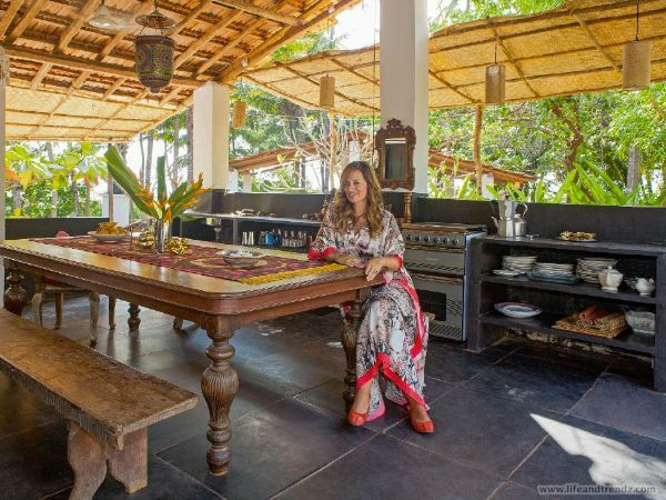 Jade Jagger at Home In Goa