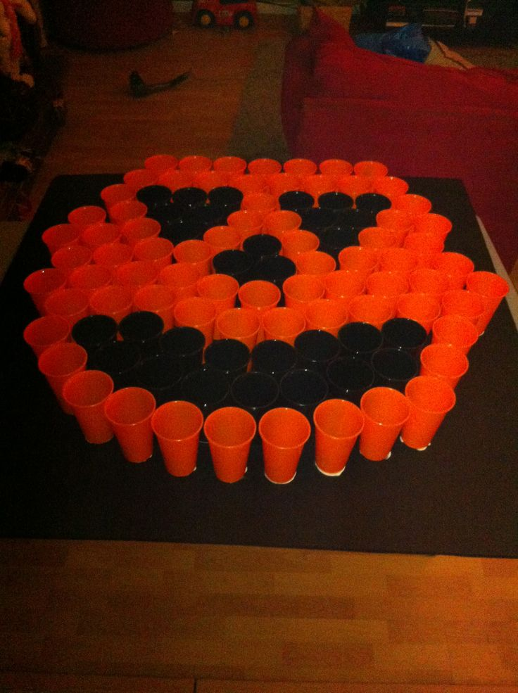 ping pong toss game for halloween carnival diy pinterest halloween carnival tossed and gaming - Halloween Ping Pong Balls