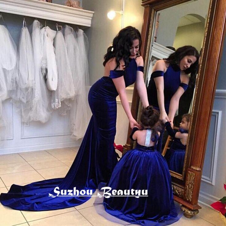 Sexy Backless Abendkleider sereia vestido de noite de veludo 2016 fora do ombro Halter azul Royal longo Prom Vestidos Vestidos Vestidos(China (Mainland))