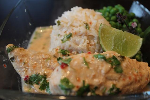 Coconut Curry Crock Pot Chicken