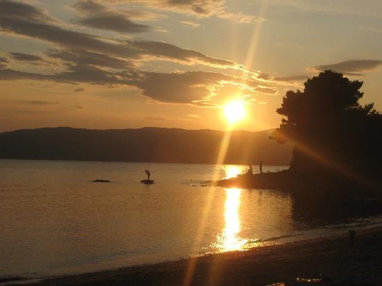 Skiathos, Greece: tramonti