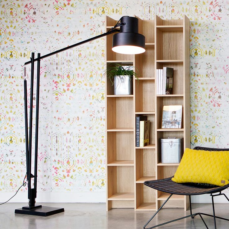 Hier Ein Bücherregal Mit Viel Stauraum Und Im Modernen Look. Mit Eiche  Furniert U0026 80