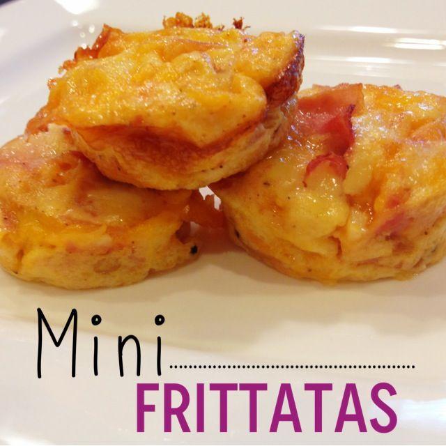 Mini Breakfast Frittatas: Great brunch idea!