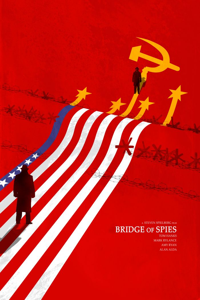 Fuck Yeah Movie Posters! — Bridge of Spies by Edgar Ascensão