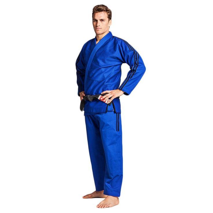 Kimono de Jiu Jitsu Brésilien, Gi  adidas Contest JJ430 bleu
