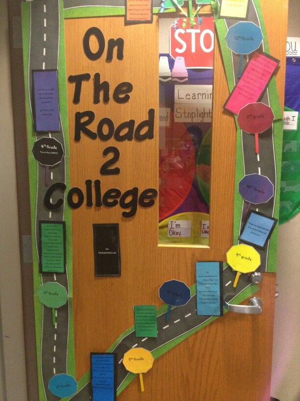17 best College Door Decoration Ideas images on Pinterest ...