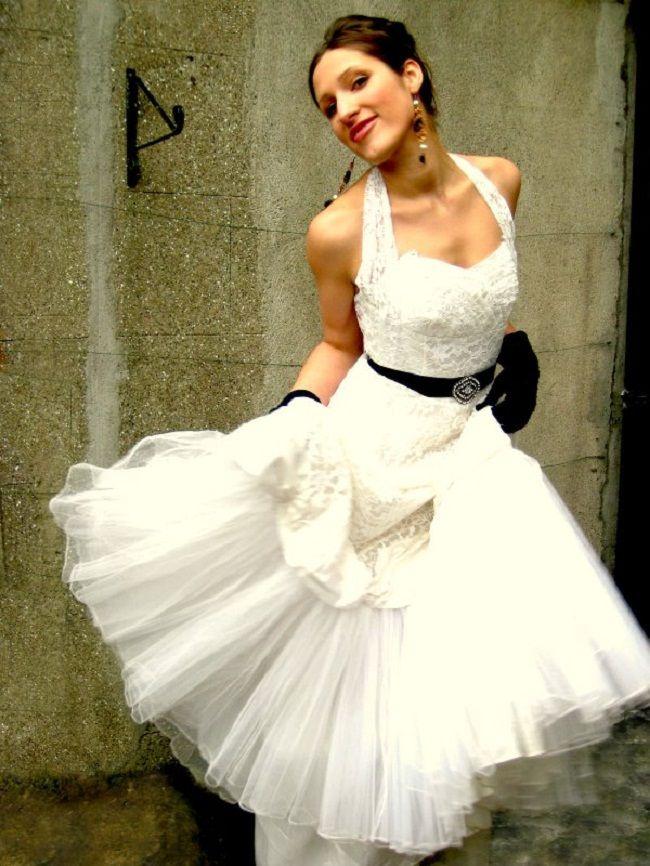 1000  ideas about Short Vintage Wedding Dresses on Pinterest ...