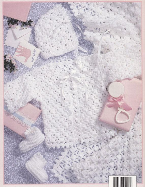 - Baby Layettes Crochet Patterns - 3 Lacy Sets ... | Crochet Psalm 139 ...