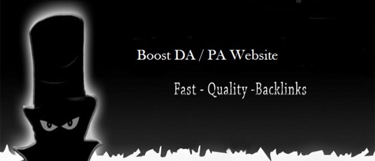 Boost DA / PA your website Perfect Service for $25