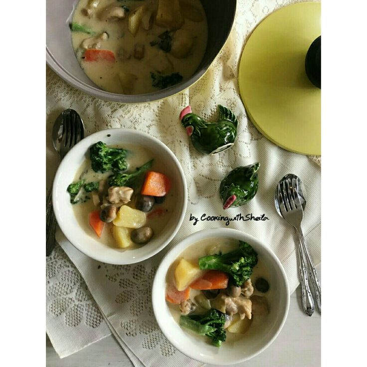 White Chicken Stew