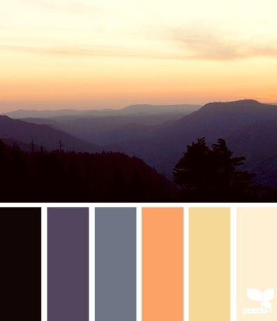 Belle gamme de couleurs