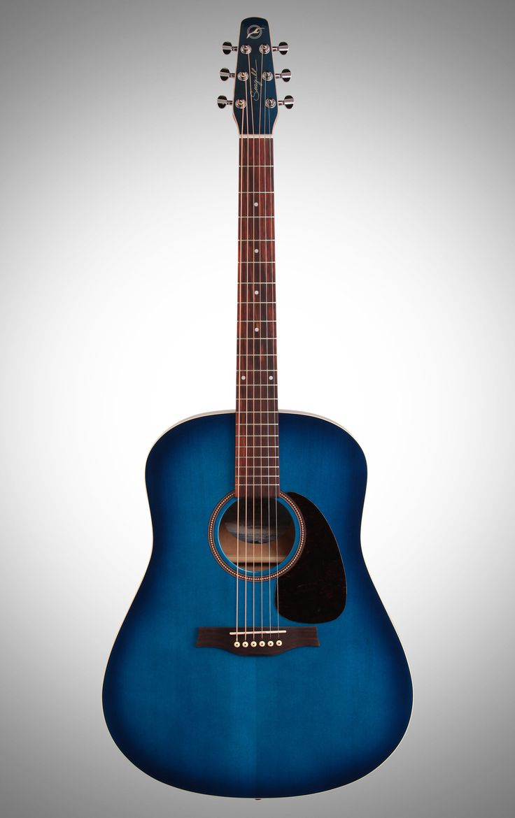 Seagull S6 Spruce - love the blue