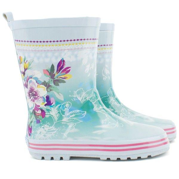 Kenzo floral Wellington boots at alexandalexa.com