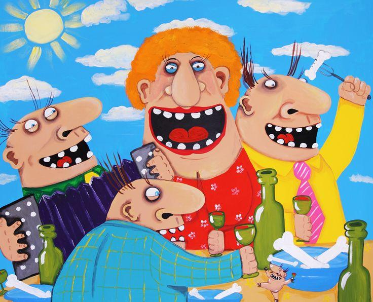 Веселые картинки, артем с днем рождения картинки прикольные карикатуры