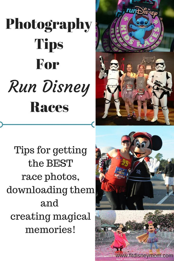 Run Disney photography tips for races. Run through Walt Disney World and Disneyland then take away magical memories.