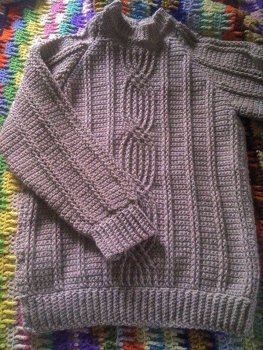 1000+ ideas about Crochet Pullover Pattern on Pinterest ...
