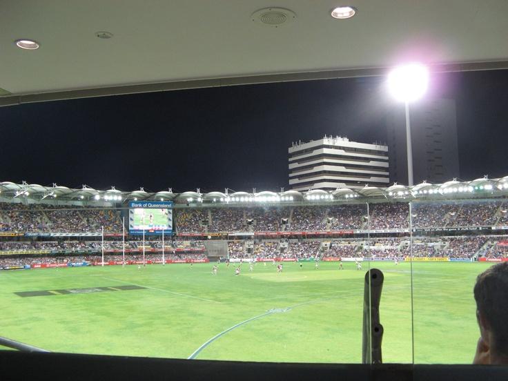 AFL Game @ Gabba, Brisbane